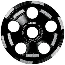 Bosch 5 in. Double Row Segmented Diamond Cup Wheel for Concrete