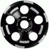 Bosch 5 in. Double Row Segmented Diamond Cup Wheel for Concrete