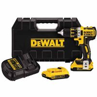 DeWalt® 20V MAX* XR Lithium Ion Brushless Compact Drill/Driver Kits