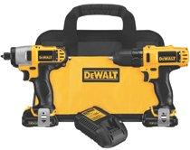 DeWalt® 12V MAX* Cordless Combo Kits