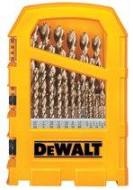 DeWalt® Pilot Point® 29-Piece Gold Ferrous Oxide Drill Bit Sets