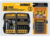 DeWalt® Impact Ready® 38 Pc. Accessory Kits