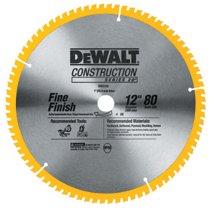 DeWalt® Construction Miter/Table Saw Blades