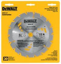 DeWalt® Portable Construction Saw Blades