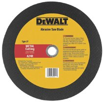 DeWalt® Metal Abrasive Saw Blades