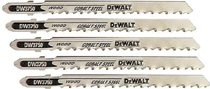 DeWalt® T Shank Wood Cutting Jig Saw Blades