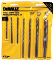 DeWalt® Carbide Hammer Drill Bit Sets