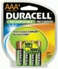 Duracell® Stay-Charged Rechargeable Batteries