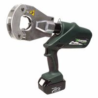 Greenlee® Gator® Battery-Powered Quad-Point Flip Top Crimping Tool