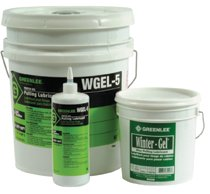 Greenlee® Winter-Gel™ Cable Pulling Lubricants