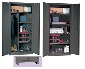 HEAVY DUTY BI-FOLD DOOR CABINETS - EXTRA SHELF