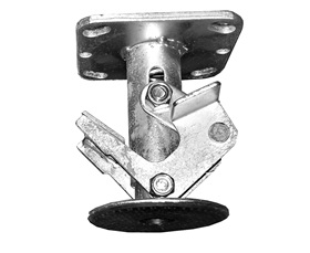 MODULAR A-FRAME BIN CARTS - FLOOR LOCK