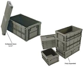 HEAVY-DUTY COLLAPSIBLE CONTAINERS