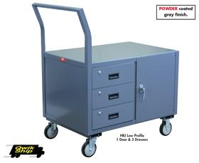 LOW PROFILE MOBILE CABINETS