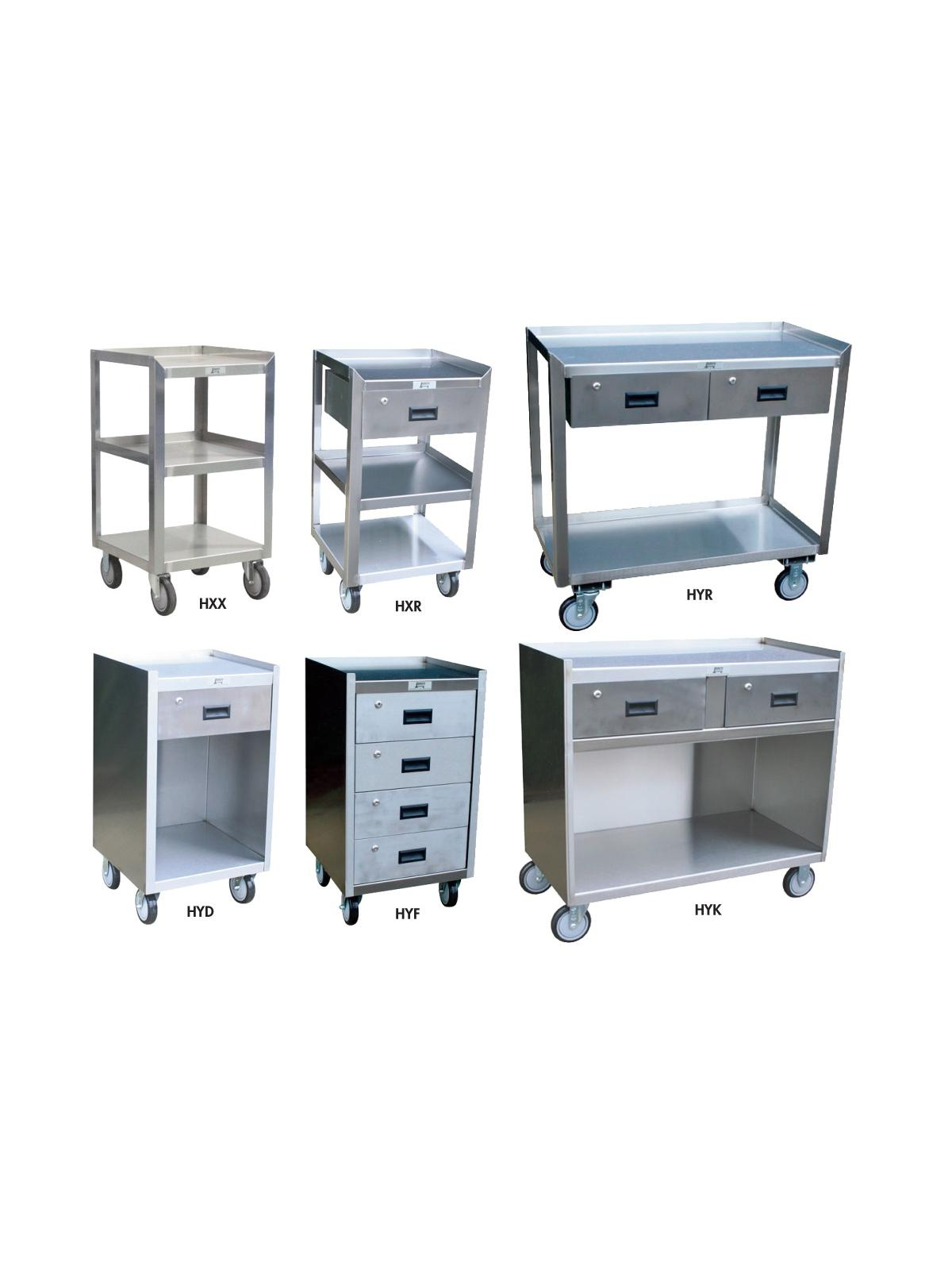 Stainless Steel Mobile Work Stands At Nationwide