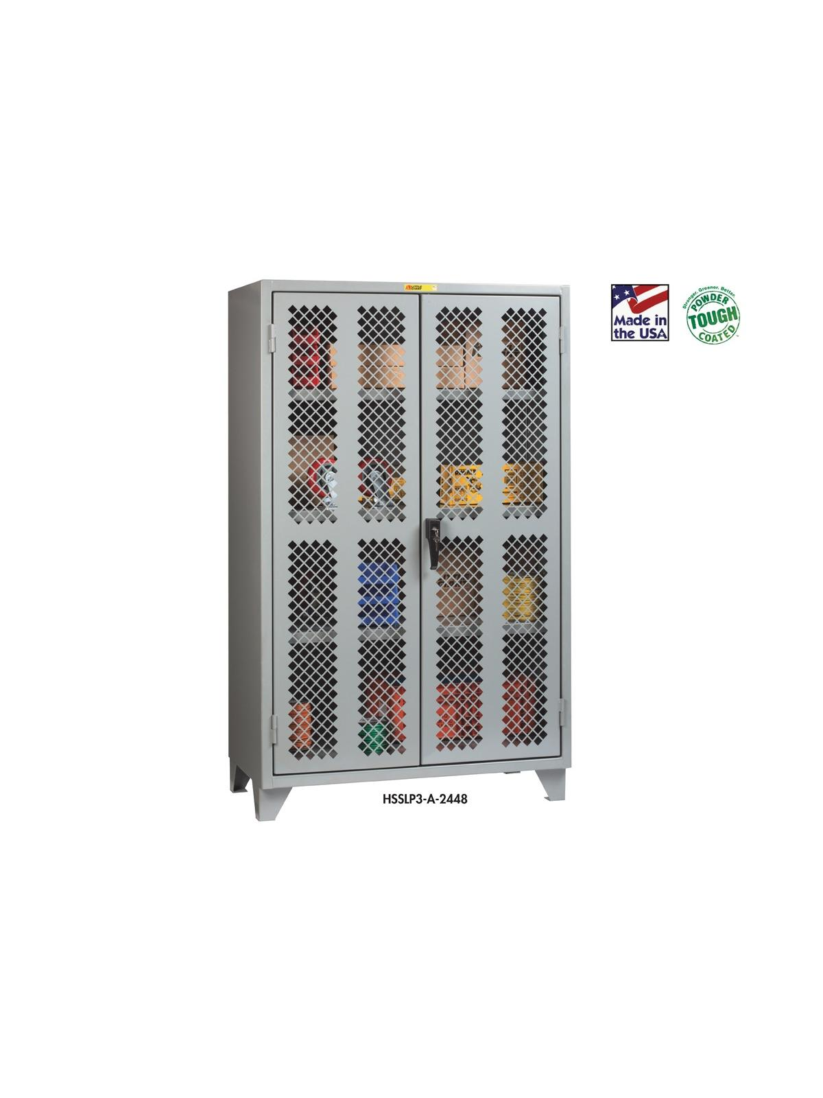 Clear View Storage Cabinets At Nationwide Industrial