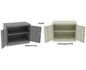 Tennsco Standard Counter Amp Desk High Cabinets At
