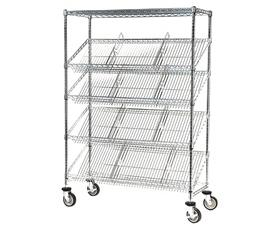 SLANTED SHELF CARTS