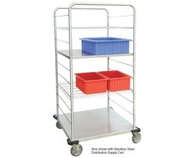 STAINLESS STEEL DISTRIBUTION SUPPLY CART ACCESSORIES