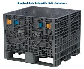 STANDARD-DUTY COLLAPSIBLE BULK CONTAINERS