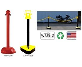 CROWD CONTROL STANCHIONS