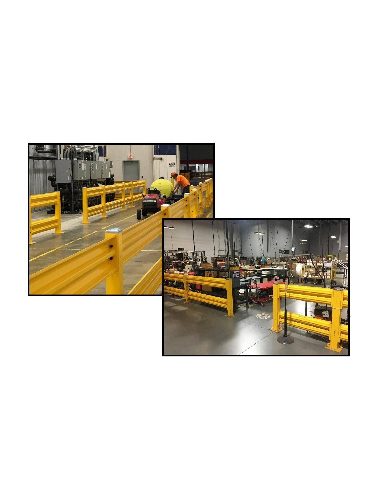 Heavy Duty Guard Rail Systems At Nationwide Industrial