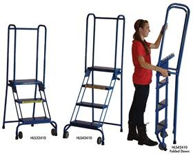 MODIFIED LOCK-N-STOCK FOLDING LADDER