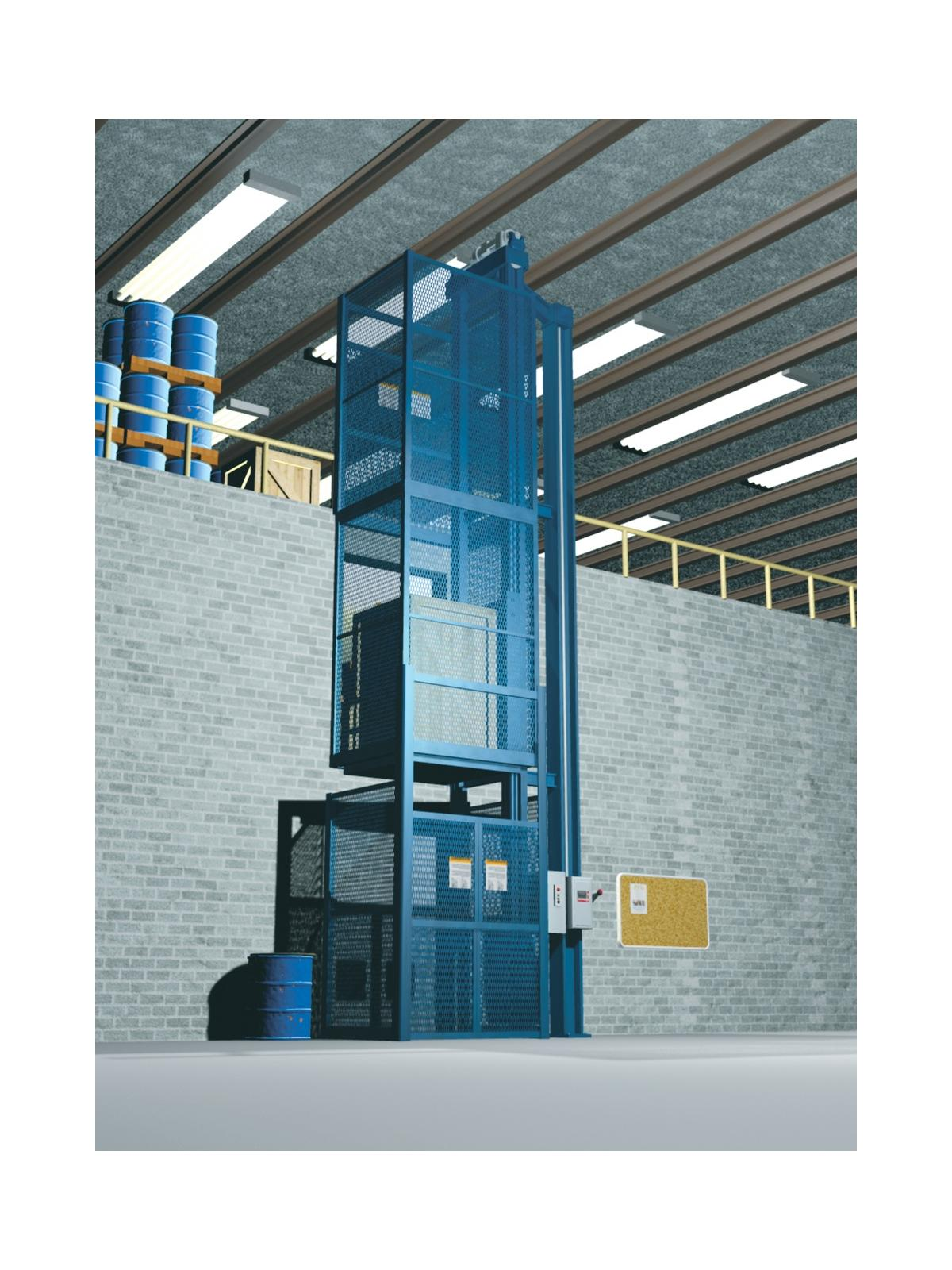 Vrc Vertical Reciprocating Conveyor Freight Elevator At