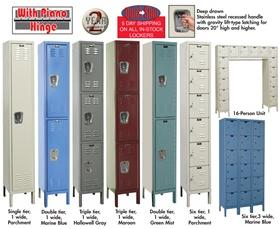PREMIUM LOCKERS - 3-WIDE UNITS