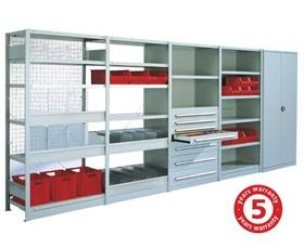 BOLTLESS SHELVING - 331 to 507 LB. SHELF LOAD