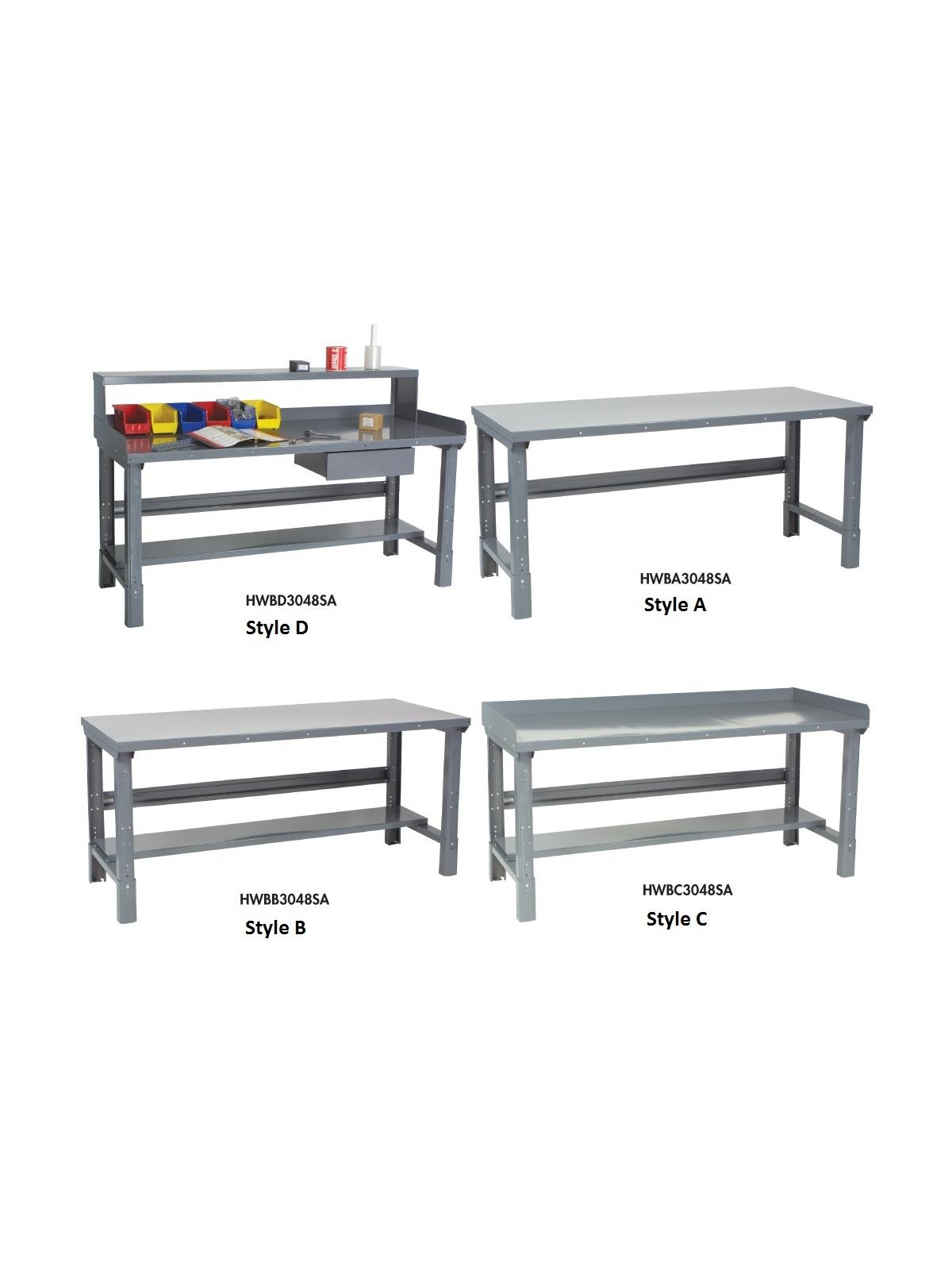 Metal Work Benches At Nationwide Industrial Supply Llc