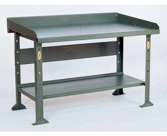 Steel Top Industrial Workbench