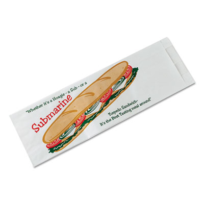Bagcraft Papercon® Sub Sandwich Bags
