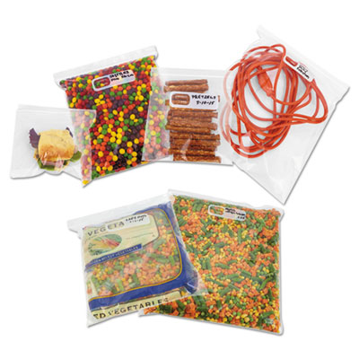 Boardwalk® Reclosable Food Storage Bags