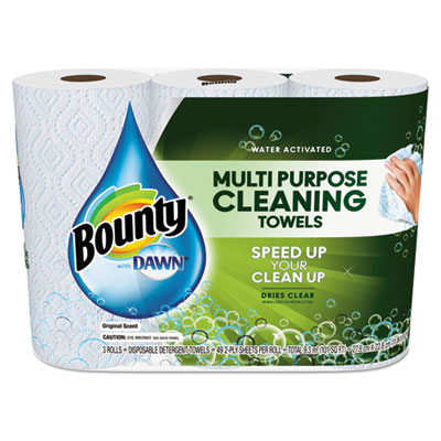 Bounty® Paper Towels with Dawn®