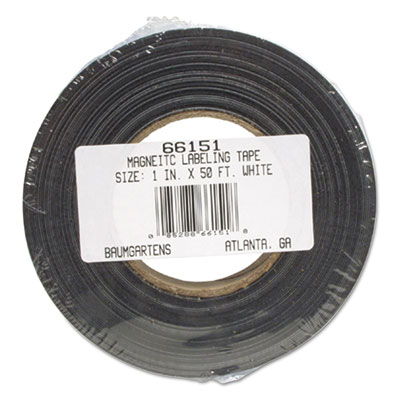 Baumgartens Dry Erase Magnetic Label Tape