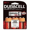 Duracell® Quantum Alkaline Batteries with Duralock Power Preserve™ Technology