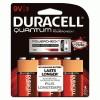 Duracell® Quantum Alkaline Batteries with Duralock Power Preserve™ Technology