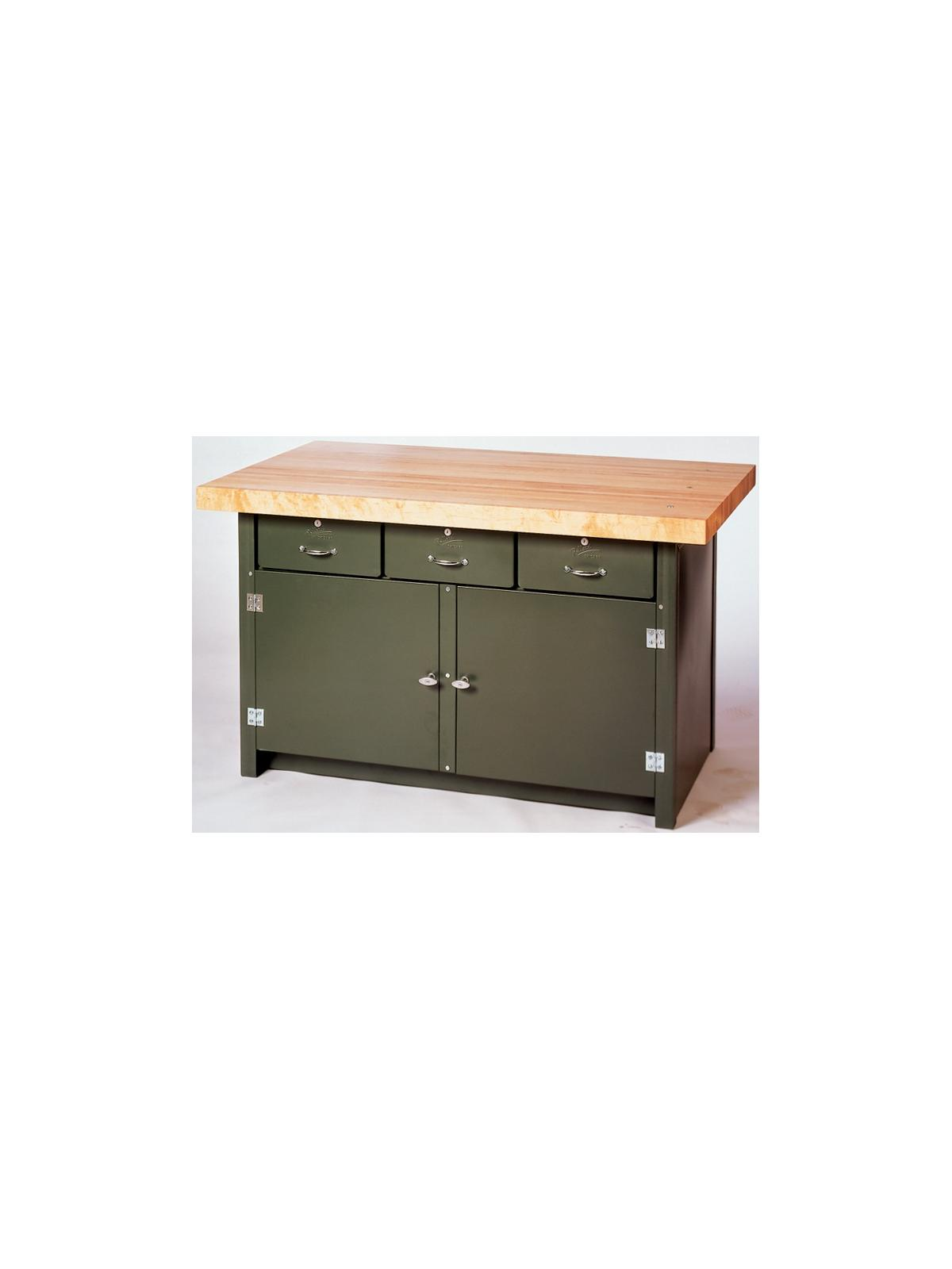 Three Drawer Cabinet Work Bench At Nationwide Industrial