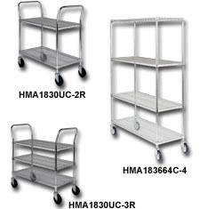 WIRE SHELF CARTS