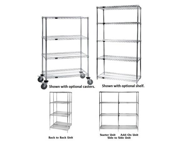 wire shelving  wire shelves  free shipping  chrome wire