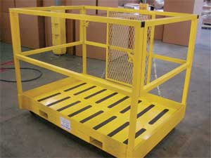 FORKLIFT WORK PLATFORMS & MAINTENANCE LIFTS