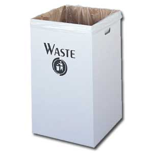 CORRUGATED WASTE RECEPTACLES