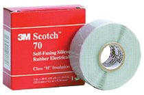 3M Electrical Scotch® Self-Fusing Silicone Rubber Tapes 70