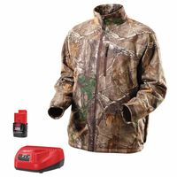 Milwaukee® Electric Tools M12™ Cordless Realtree Xtra® Camo Heated Jacket Kits