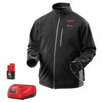 Milwaukee® Electric Tools M12™ Cordless Black Heated Jacket Kits