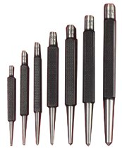 L.S. Starrett Center Punches w/Square Shank Sets