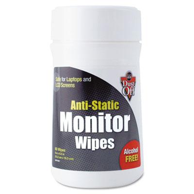 Dust-Off® Premoistened Monitor Wipes