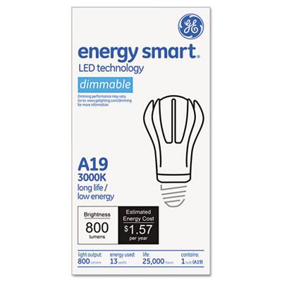 GE Soft White A-Line LED Light Bulb