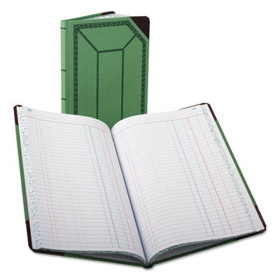 Boorum & Pease® Journal with Green and Red Cover